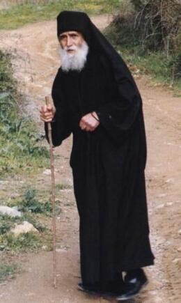 Старецъ Паисiй Святогорецъ въ дороге